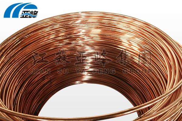 连铸铜包钢接地圆线